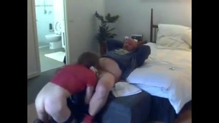 CD amateur serving several gang sexed in video