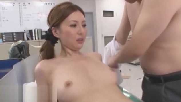Japanese secretary banged by horny office guy young asian girls covered in cum