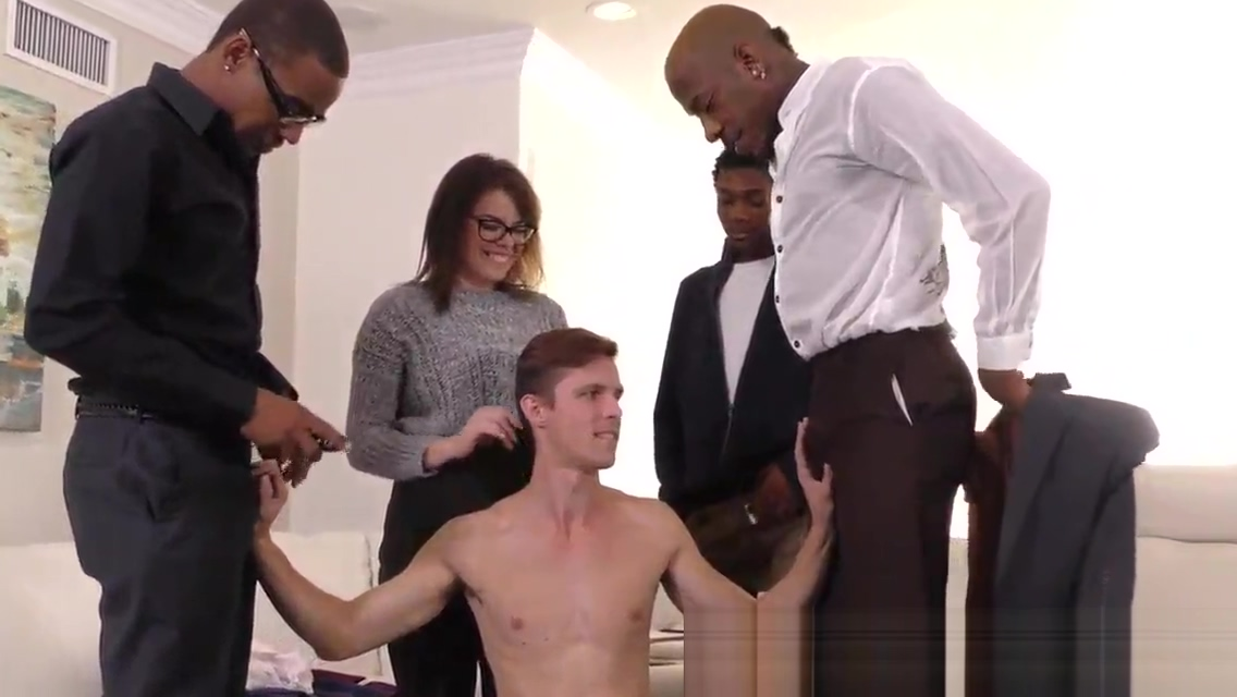 Twink spunked by black Thick mature milf ass part