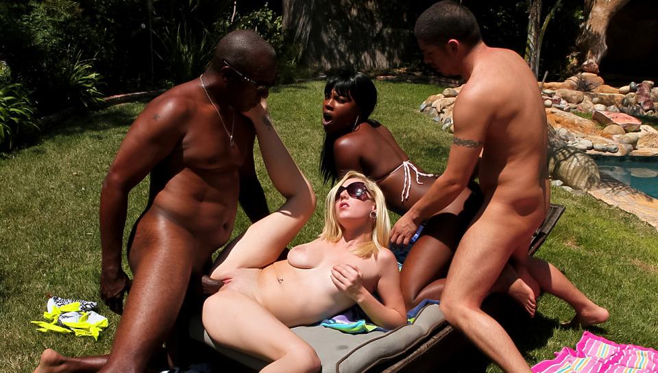 Interracial swingers sex pics