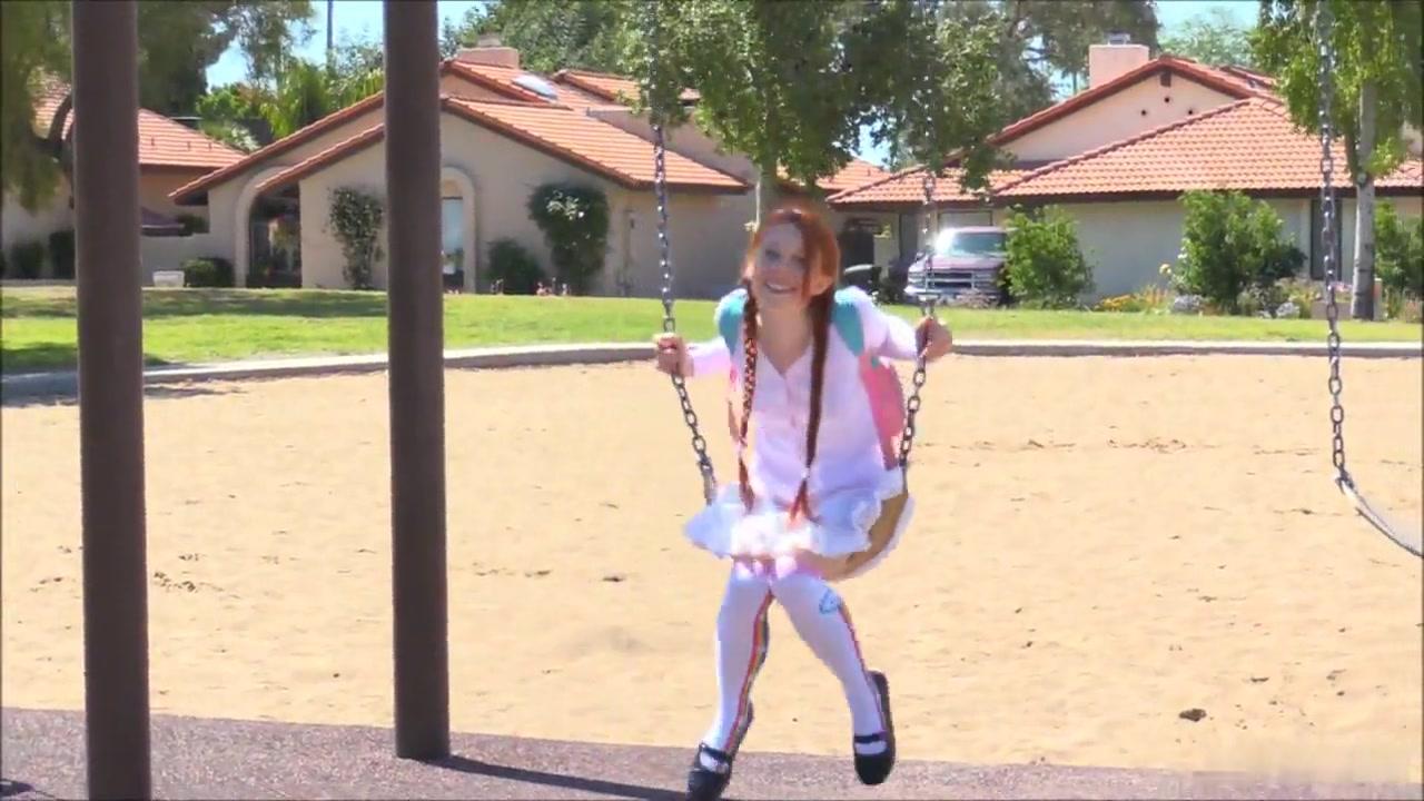 Redhead Schoolgirl extreme teen sex positions