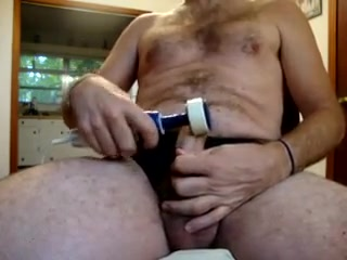 10 27 15 Drilled my Cock to Orgasm chick with no legs