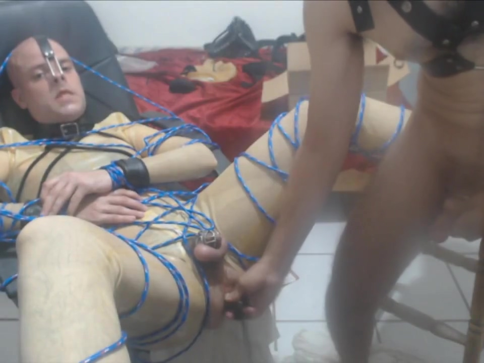 In latex, getting face fucked, Hole opened and fisted (first time fisted) Beeg Sex And Submission