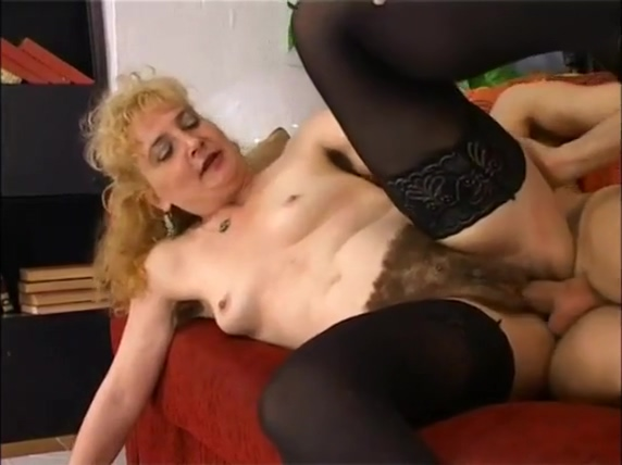 fuck with my mother hairy 12 inch dildo in pussy