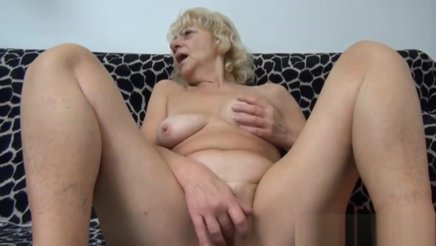 Nasty granny enjoys playing Pissing and licking in street