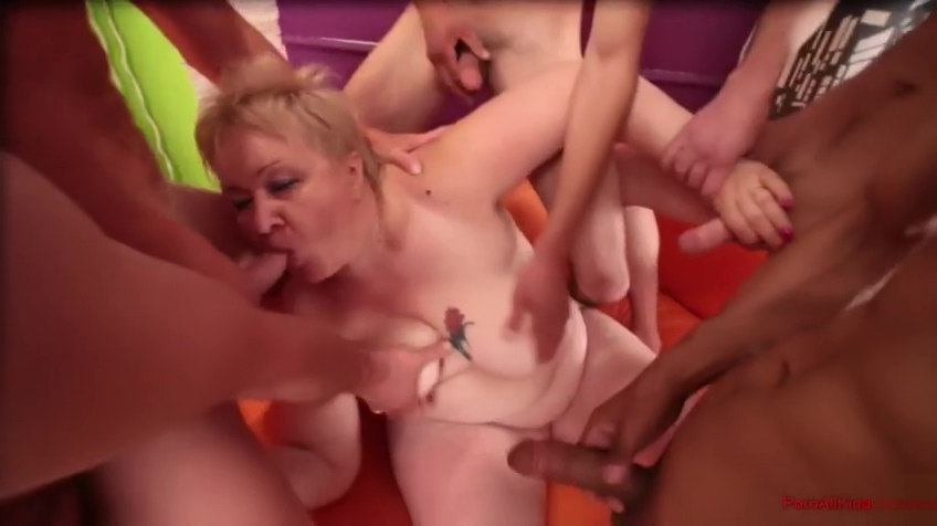 Group of fat lovers and mature BBW Young spanish anal
