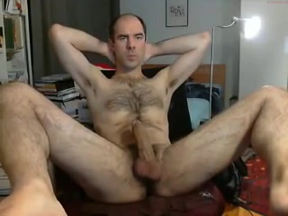 Str8 daddy so excited on cam excessive mucus in the nose and throat