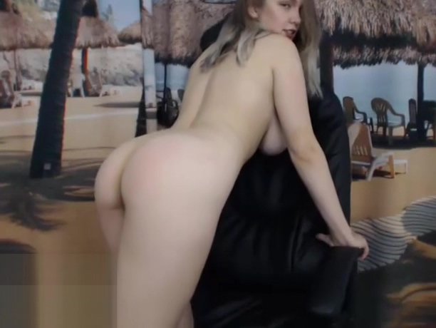 18yo with huge boobs gets naked
