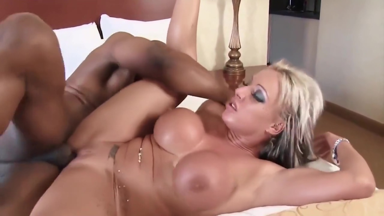 Desiring Huge Tits Milf Fucks Ebony Guy