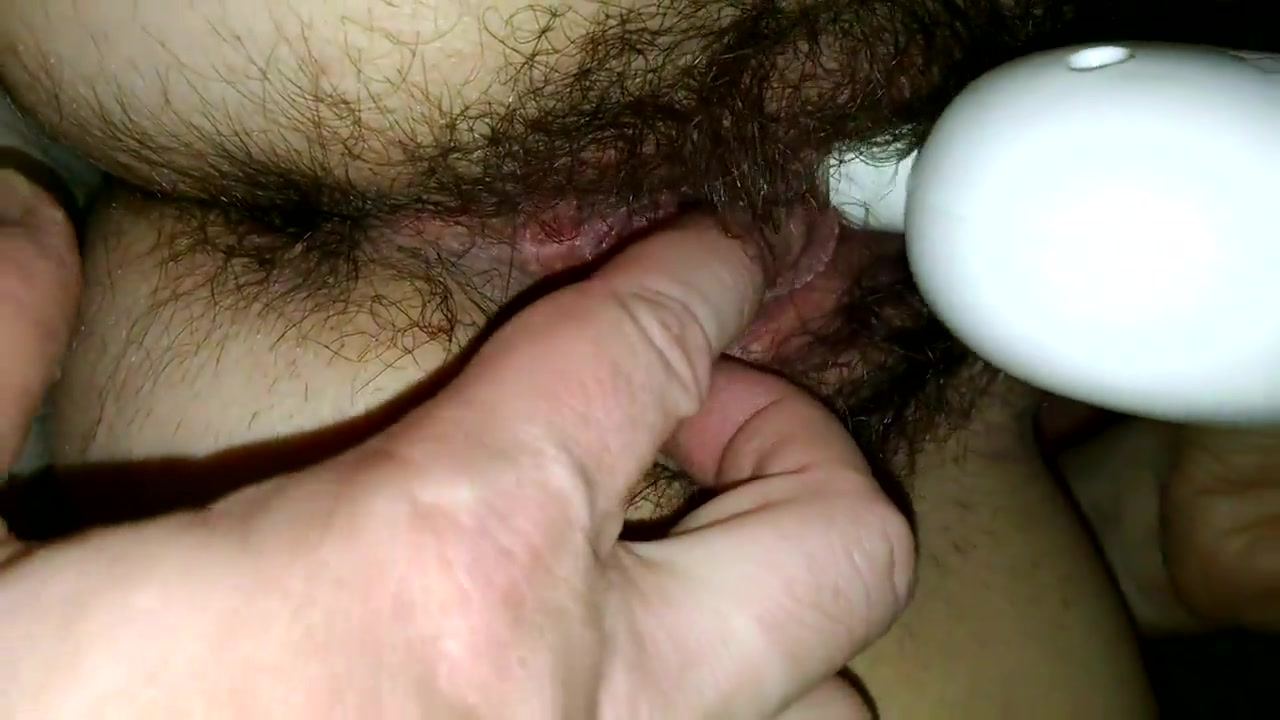 Hairy Cunt & Ass Chubby house wife bent over nude