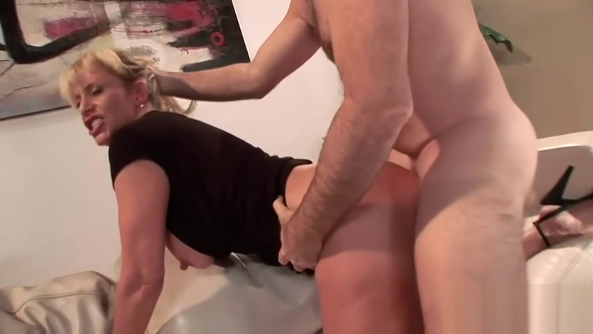 Mature Wife Fucks Stud in Front of Hubby