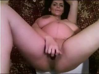 pregnant curvy babe show