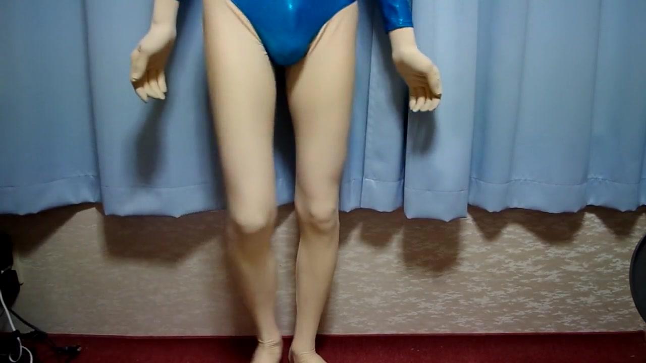 kigurumi with blue leotard ass big naomi wet