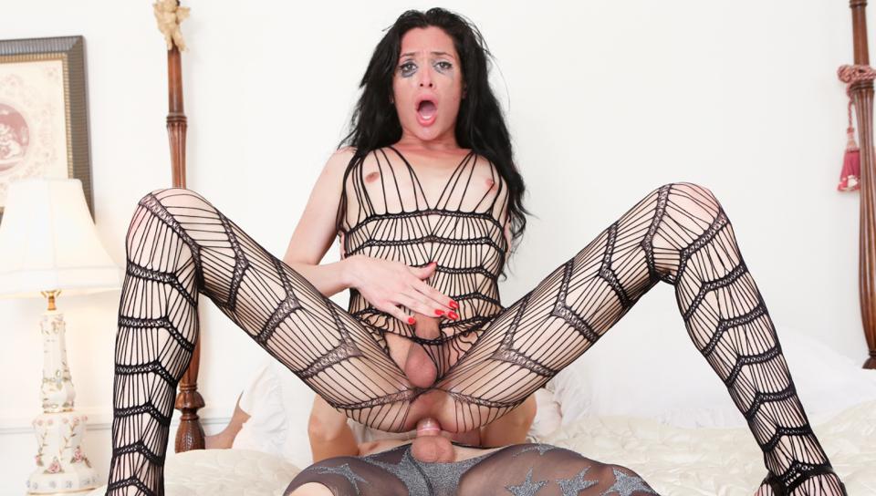 порно фото транс костюм-сетка налил тут как