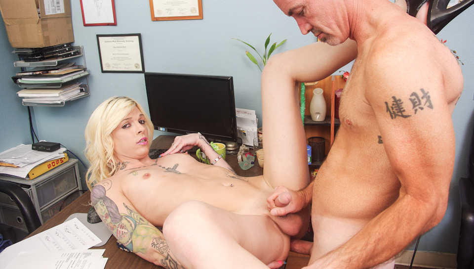 Chelsea Marie in Monsters Of Shemale Cock #28