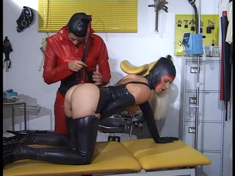 Fetish rubber and pussy stretching Breast assholes lick dick load cumm on face