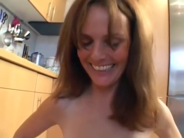 Horny German Mom in Her Kitchen russians home porn online