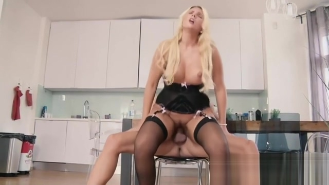 HITZEFREI Curvy German blonde fucked hard in lingerie Hot movie sex gif