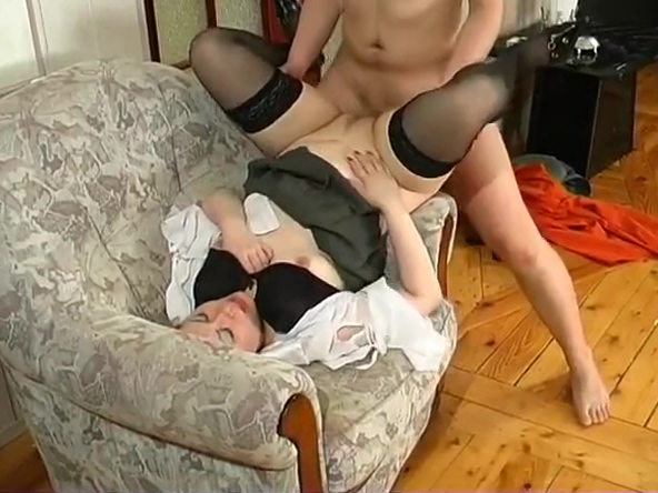 Russian MILF and guy - 72
