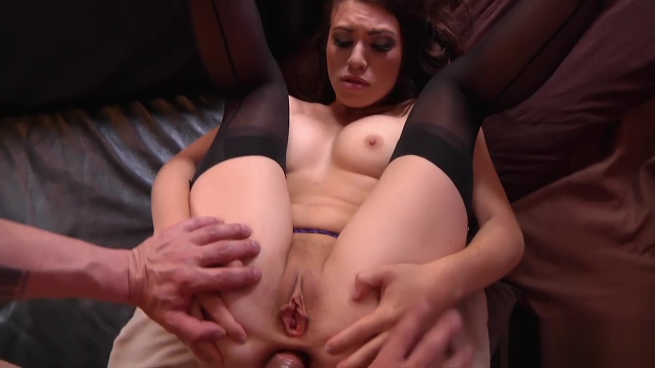 Tiffany Doll feels every pump of this anal fuck