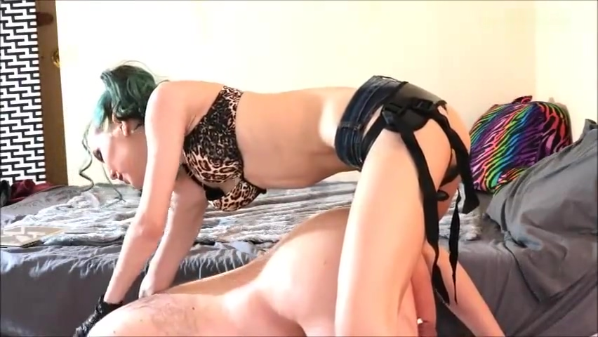 Pegging Slave thick white girls porn