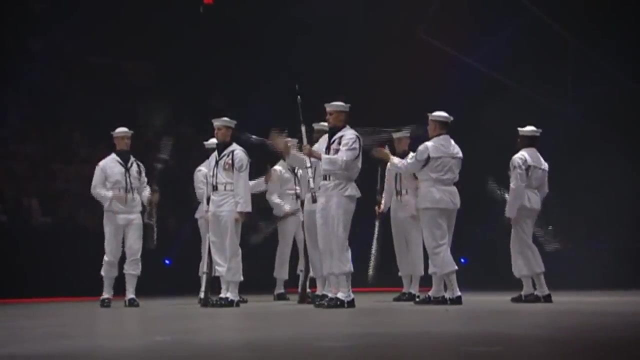 Amazing United States Navy Ceremonial Guard Light skinned woman sex