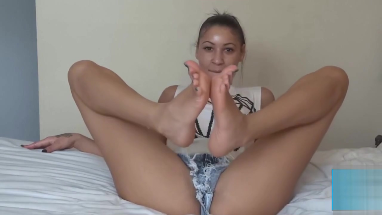 cute brunette footjob Good Girl, Big Boobs