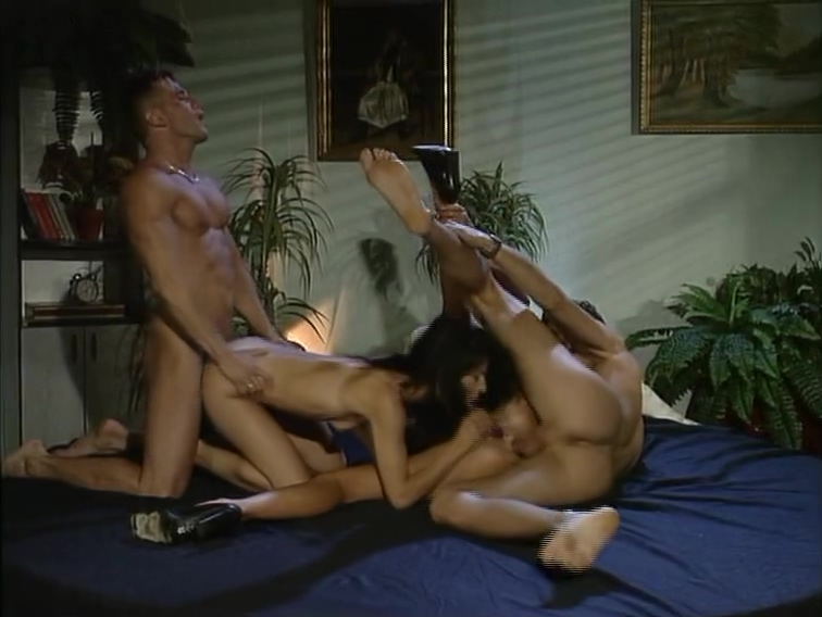 Two couples fucking on the bed Sexy and hot naked