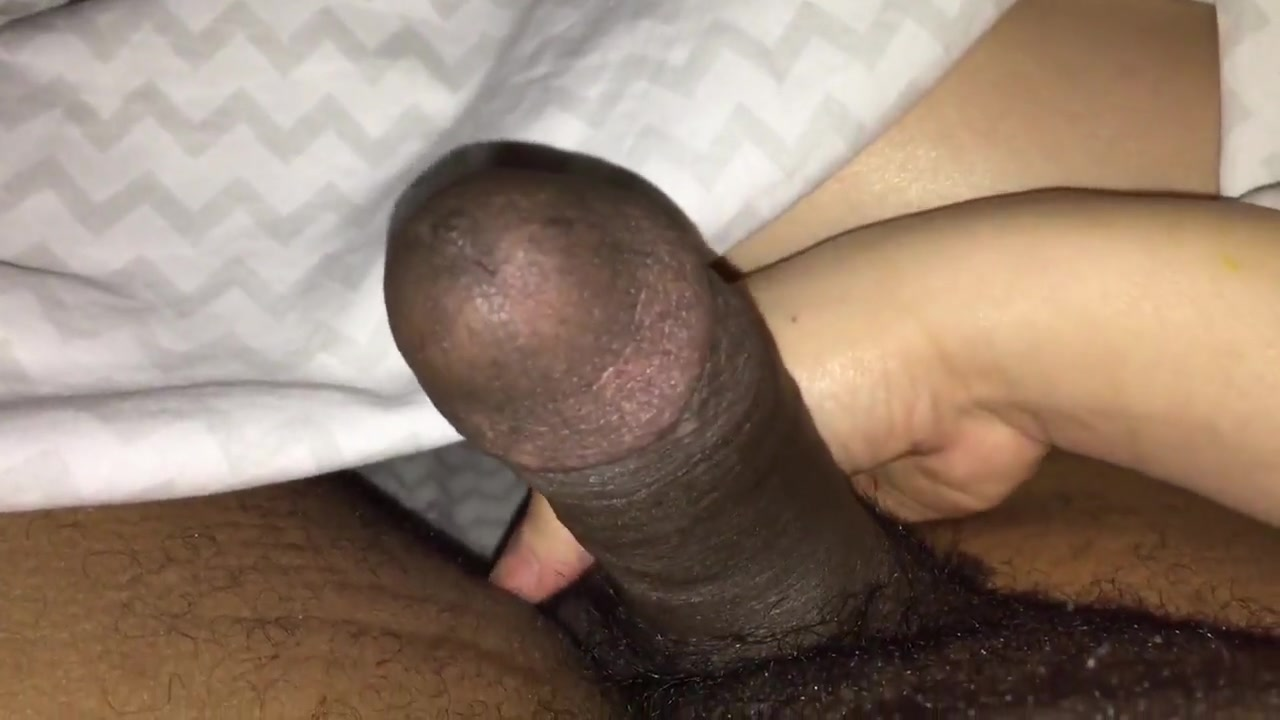 Oozing BBC Drained By Latina Hands