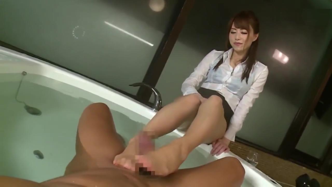 Japanese footjob Nude beach gang bang