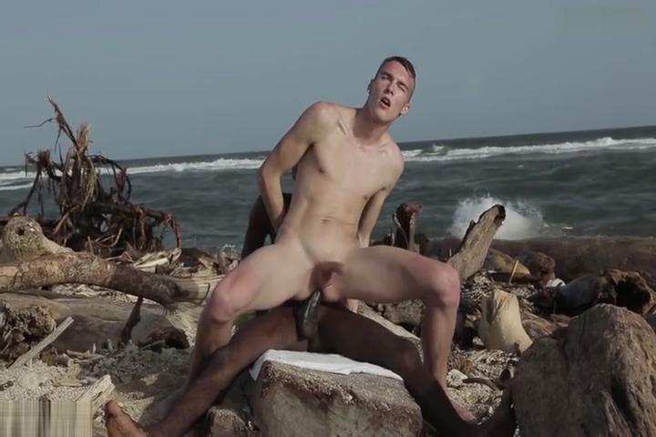Hung Interracial Twinks raw On The Beach free scream orgasm movie