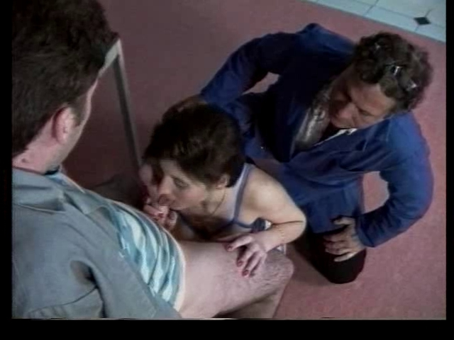 French sweetie banged by two hot guys on a film Midget car racing richard pole