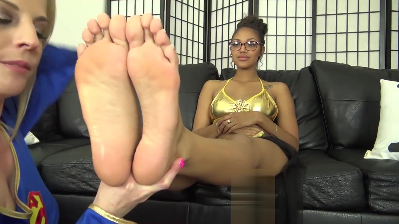 super girl mind control foot worship