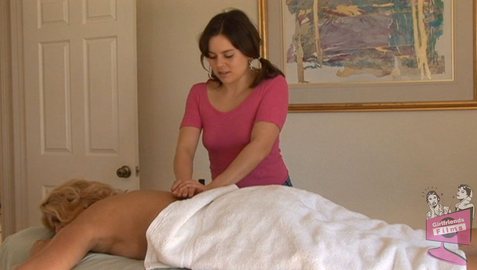 Emily Parker & Dana Devine in Lesbian Seductions #19, Scene #04 French anal threesome porn