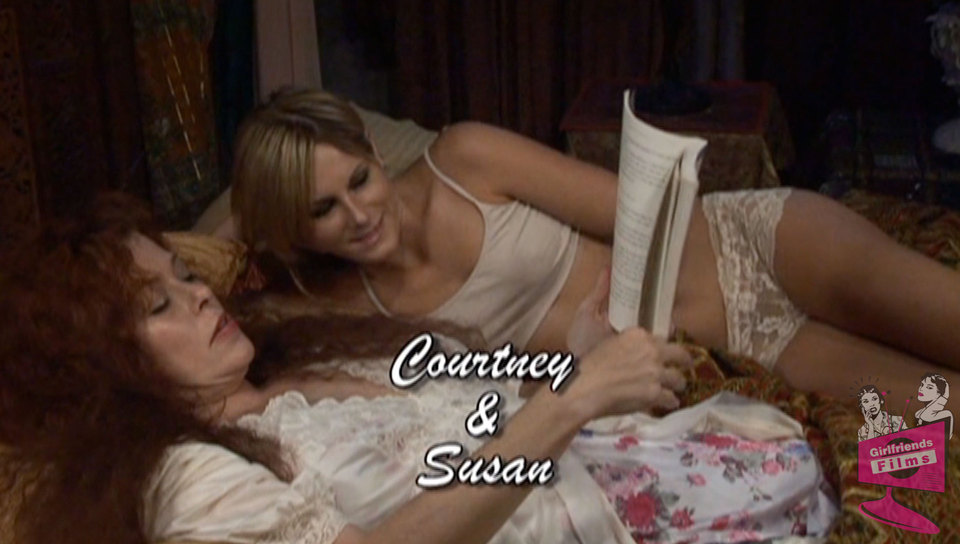 Courtney Simpson & Susan Evans in Lesbian Seductions #08, Scene #03 Eva henger porn ass