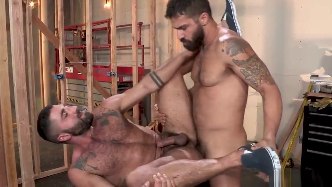 dos machos peludos cogiendose Multiple cums orgasm denial