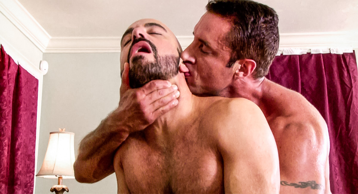 Nick Capra & Adam Russo in Baby Boy Video Old guy with dildo