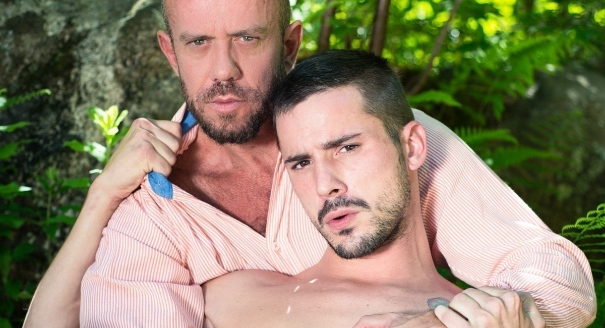 Matt Stevens & Sean Cross in Daddys Big Boy 2 Video anderson cooper beaten for being gay