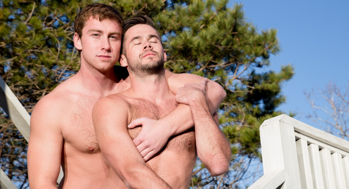 Connor Maguire & Mike Demarko in Guys Kissing Guys Video Massage Oil 3gp