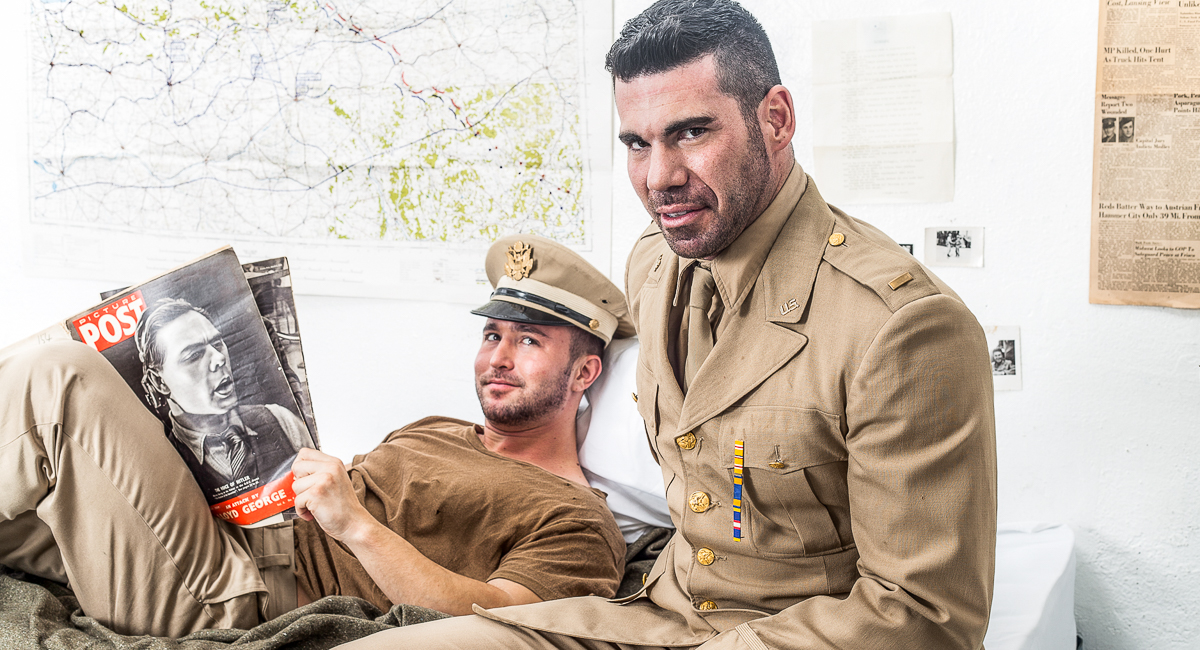 Colt Rivers & Billy Santoro in Prisoner Of War Video Paige Ashley in a friendly pussy massage