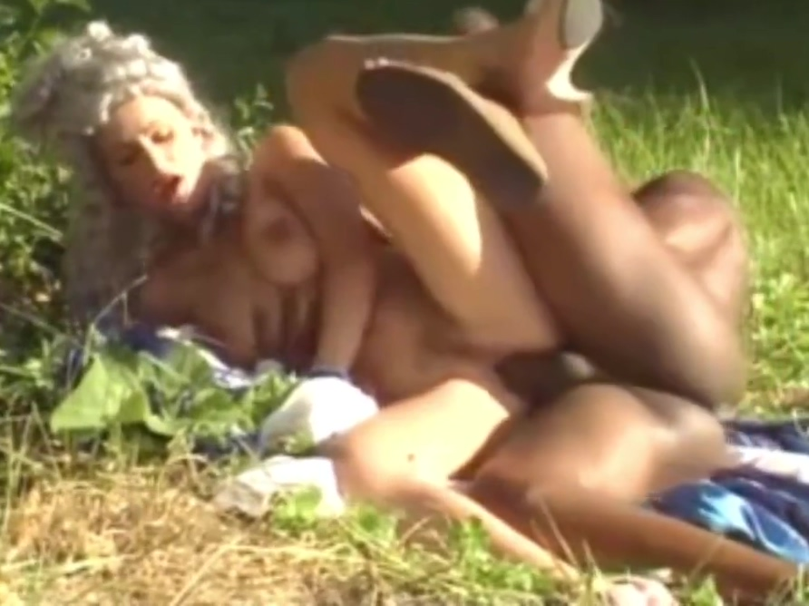 sexy renaissance woman with black man Lez brits in heels tongue