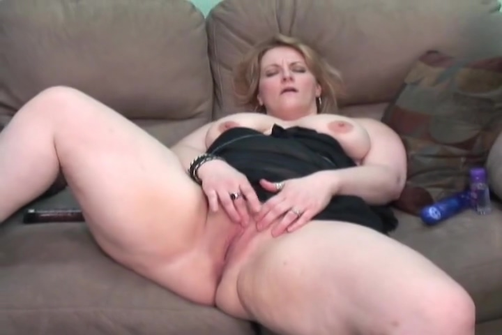 BBW Rebecca masturbates for us - Mavenhouse