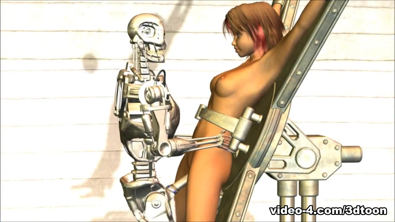 The Metal Misfit - 3DToonTube Cock in pussy mri