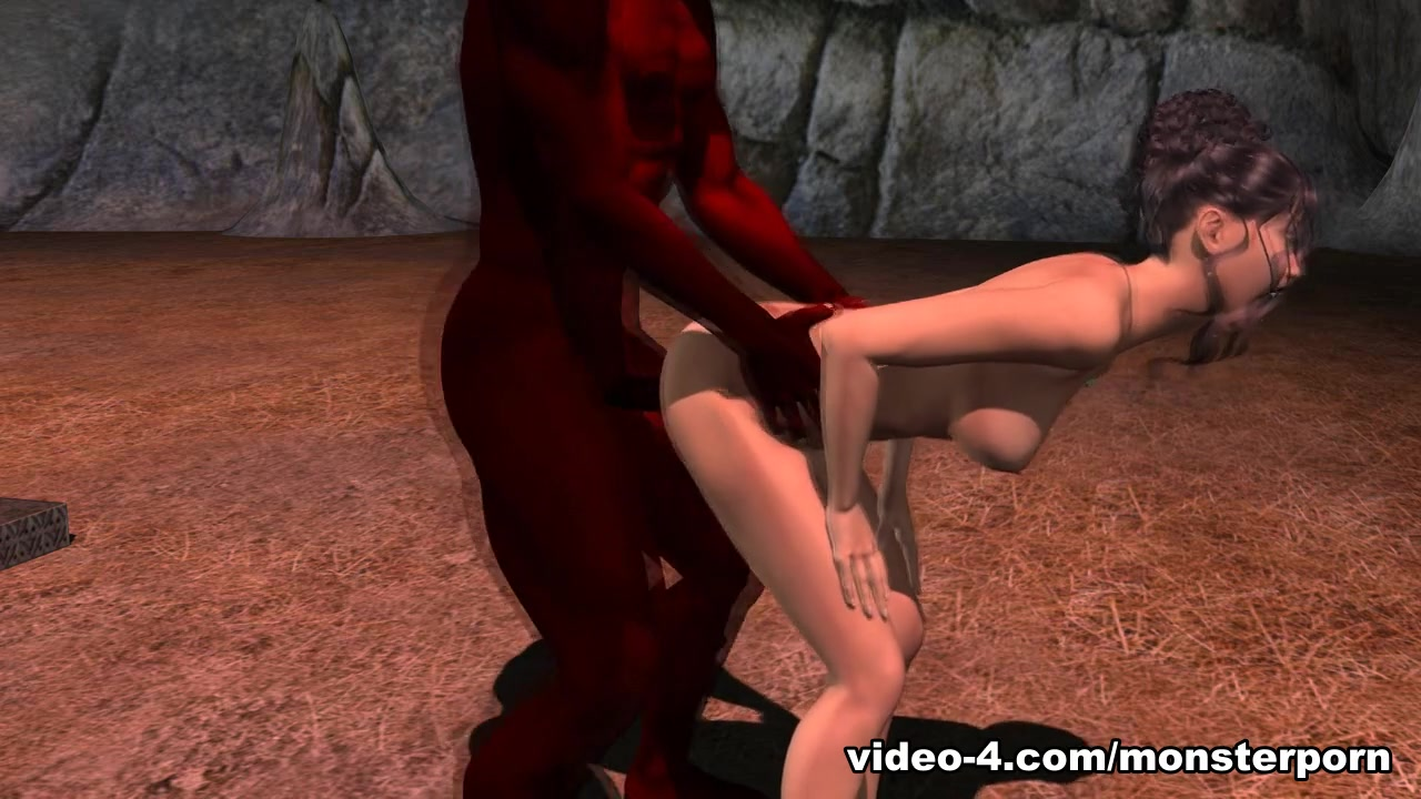 Deal with the Devil - FreeMonsterPorn Wife told to show tits in public gif