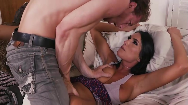August Ames gets her pussy eaten by StepBro. Hot anime girls with big tits