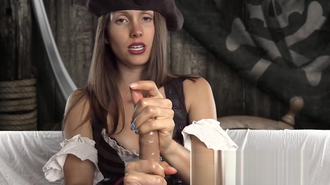 This female pirate is ready to give a rough dildo handjob ARRRGGGHHH Curvy mums