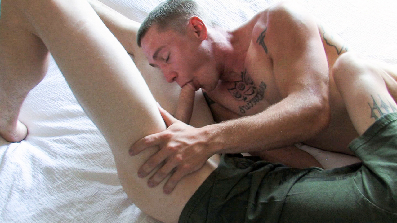 Cody & Tim Military Porn Video Bdsm male ass penatrations