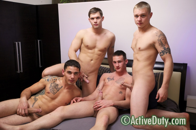 Axl, Bric, Chaz & Kaden Military Porn Video Free girls in the party for sex