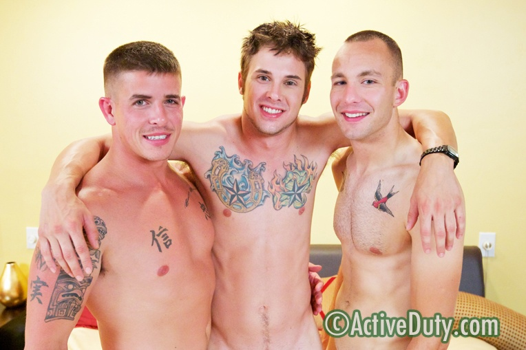 Bentley, Brian & Ethan Military Porn Video Free amatuer drunk threesomes sex videos