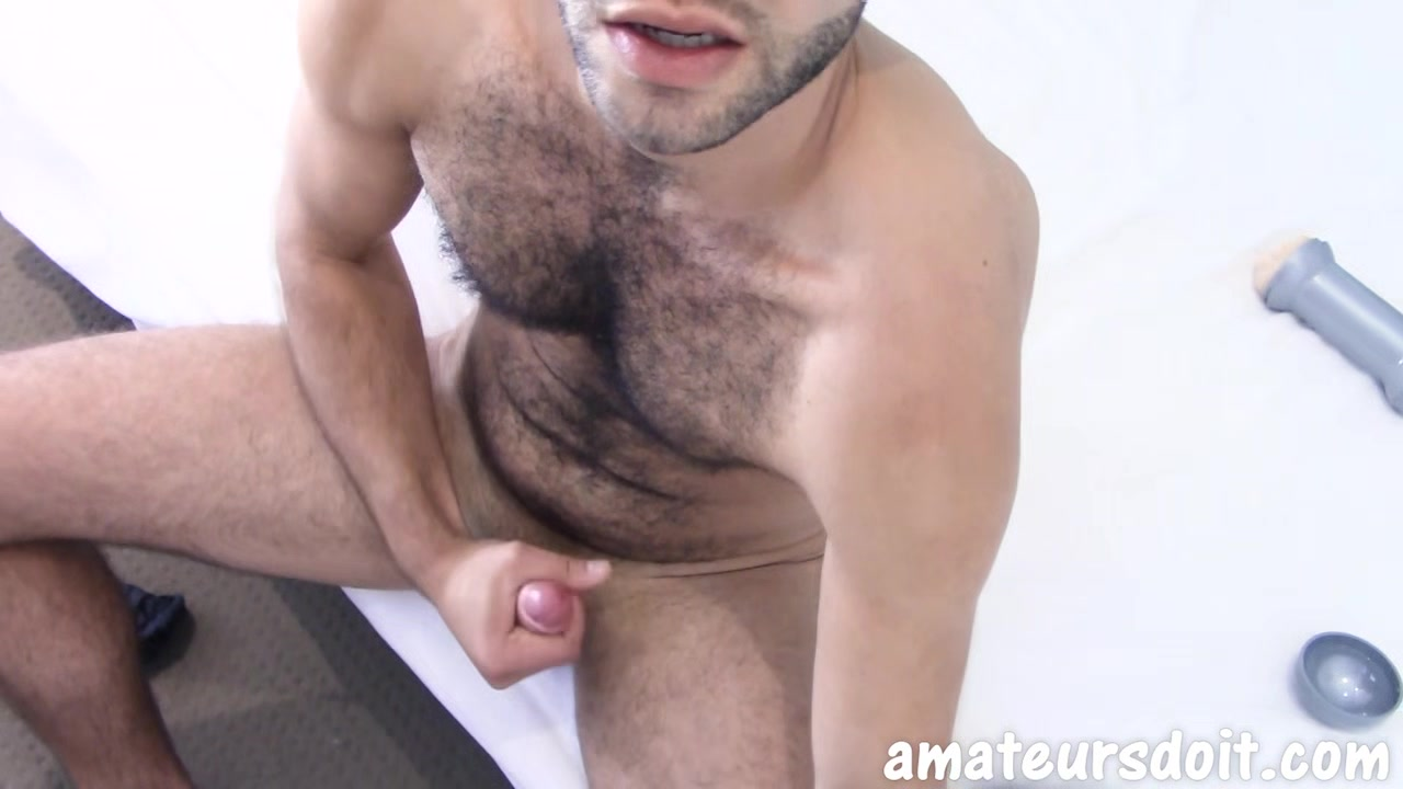 AmateursDoIt - Hairy amateur jock beats uncut meat in amateur masturbation Indian Horney Sex
